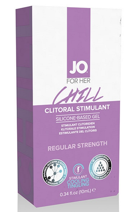 SYSTEM JO - CLITORAL STIMULANT COOLING CHILL 10 ML