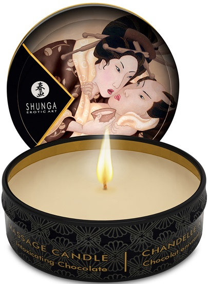 Shunga Massage Candle Chocolate