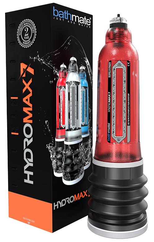 Bathmate HydroMax 7 Penis Pump Red