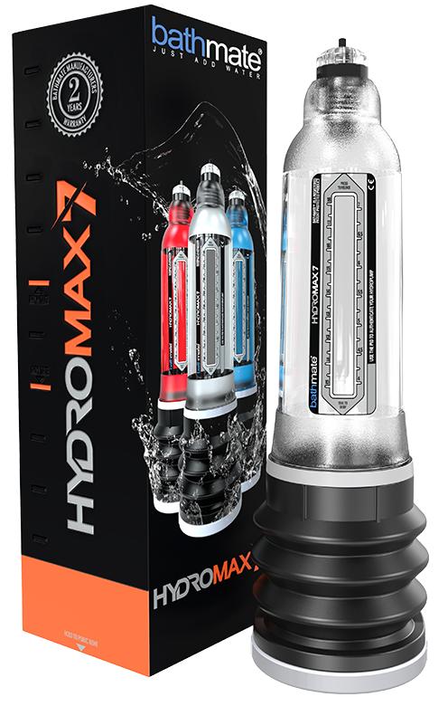 Bathmate HydroMax 7 Penis Pump Crystal Clear RF09996