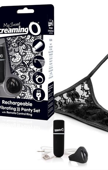 Remote control panty vibe Black
