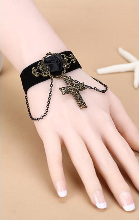 Pleasures Bracelet Black Rf80970