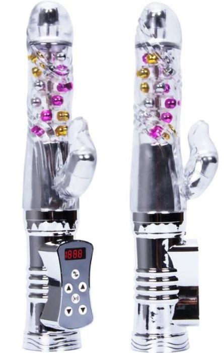 Vibrador Rabbit Vibração e rotação de 8 frequências Rf02925