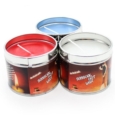 Massage Oil Candle Red