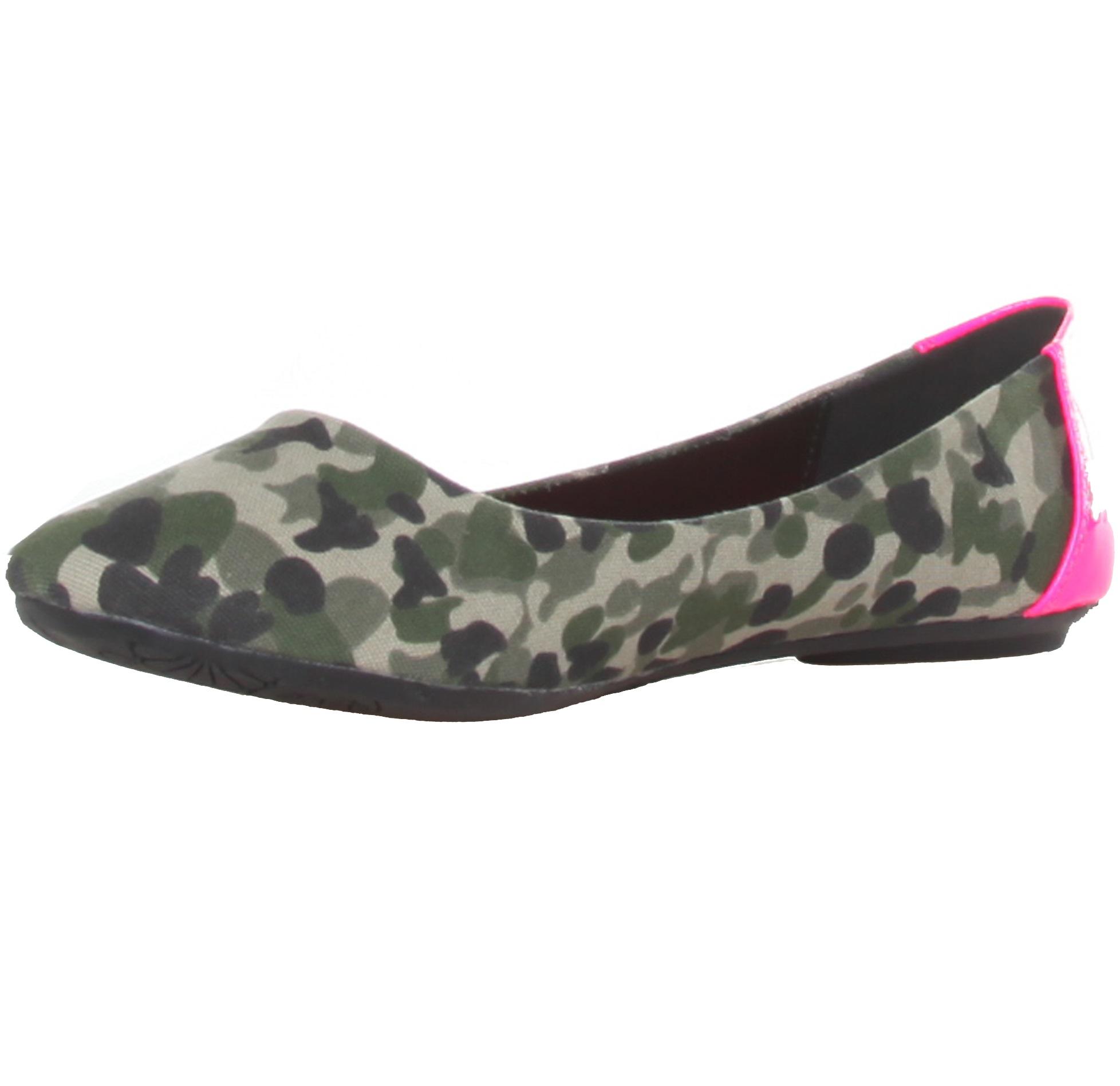 Ana Lublin Flat Shoes Militar Fuxia Rf600186