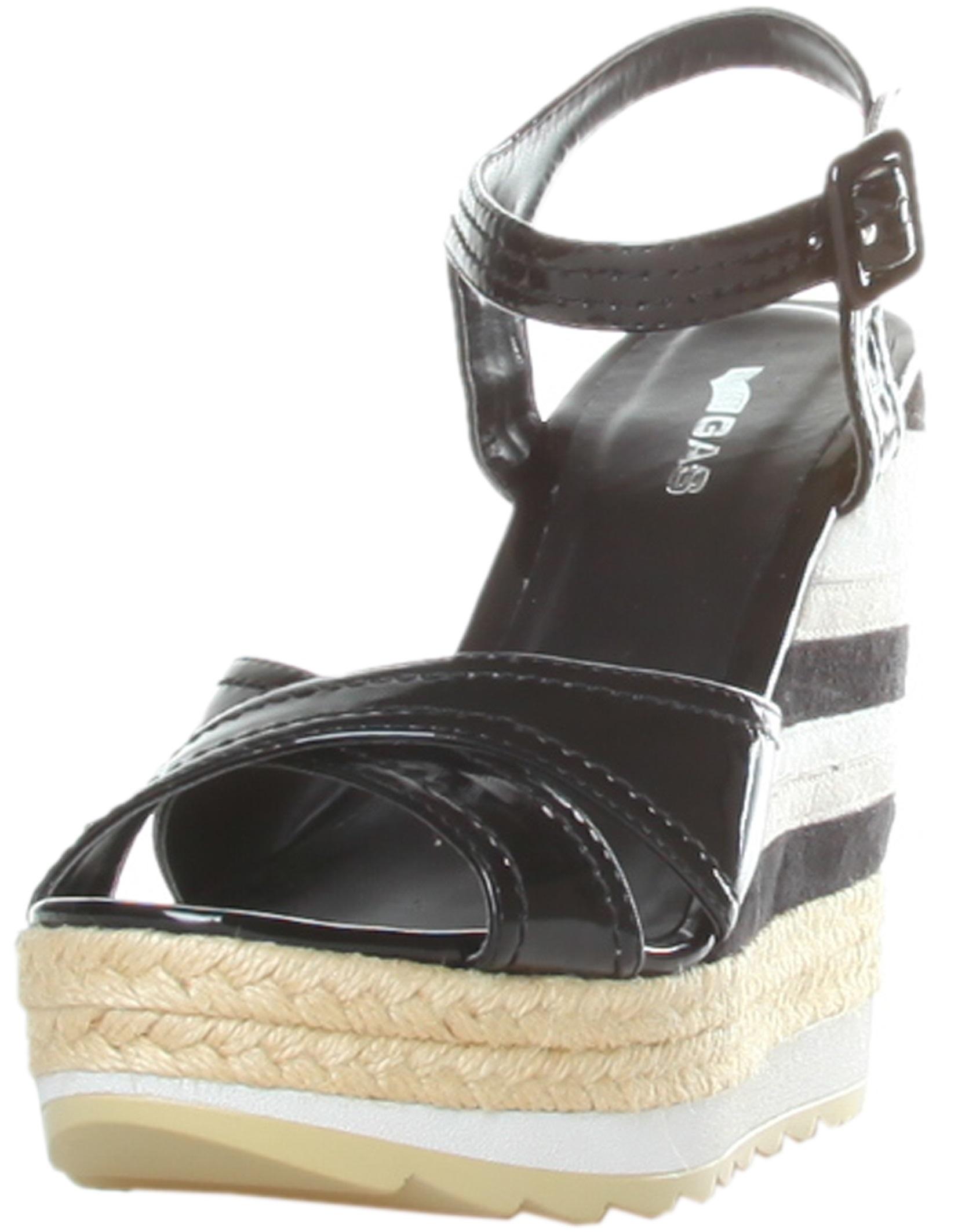 Gas Sandals Nero Rf600204