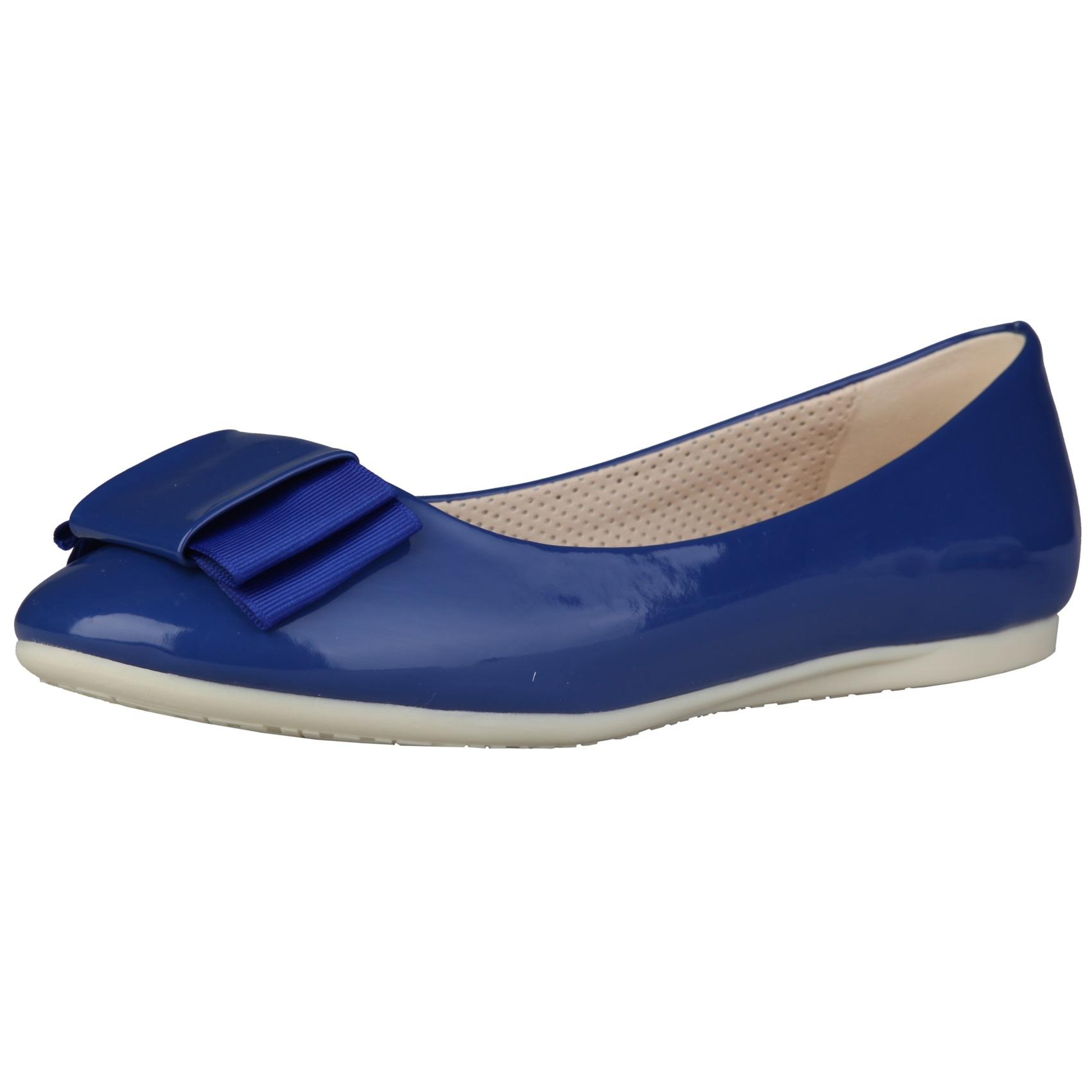 Sofia Loes Flat Shoes Fiocco Cobalto Rf600154