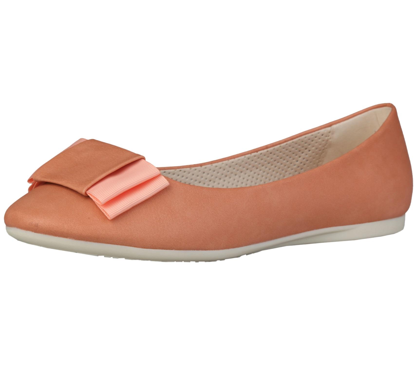 Sofia Loes Flat Shoes Fiocco Albicocca Rf600155