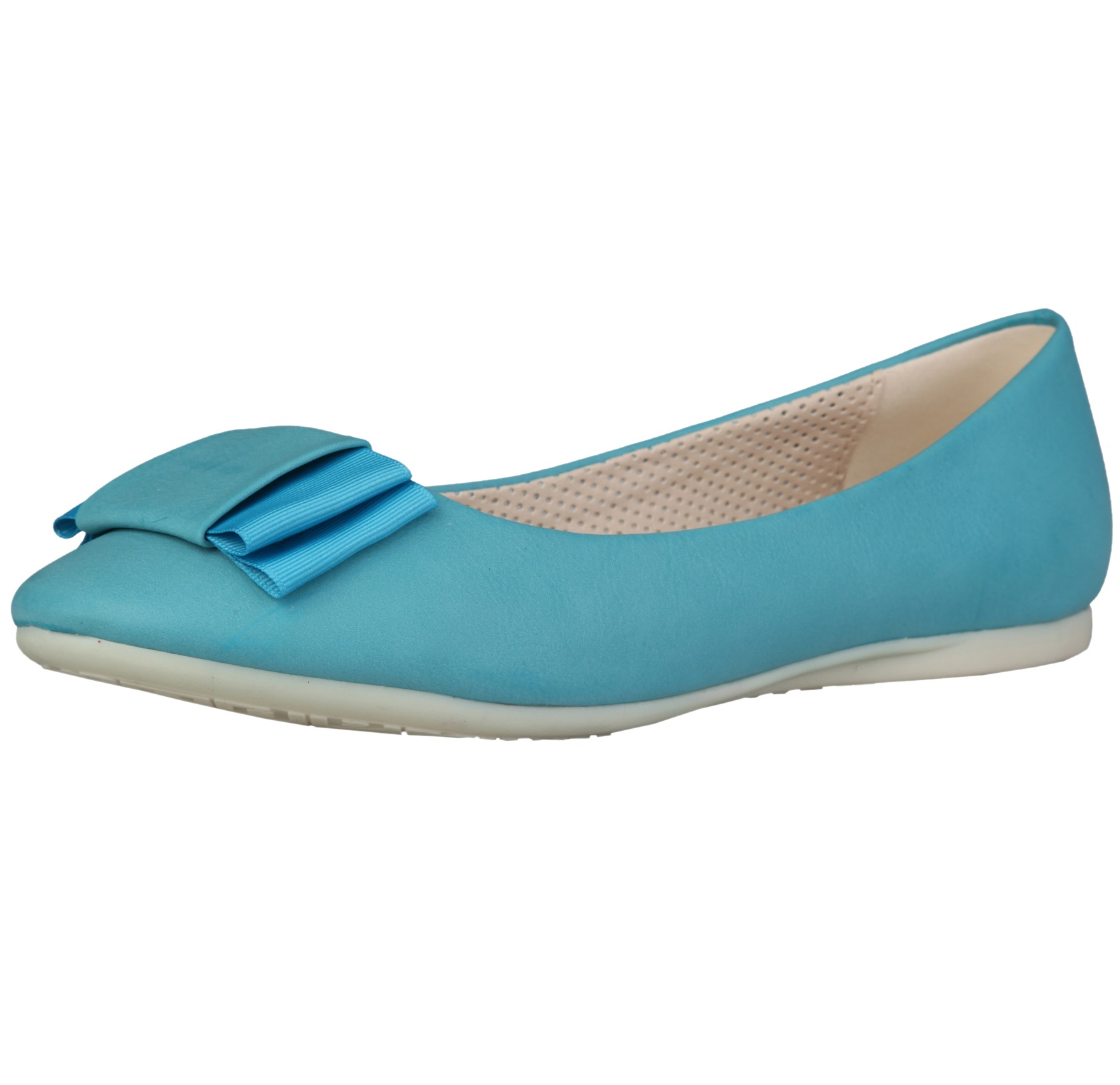 Sofia Loes Flat Shoes Fiocco Bluette Rf600155