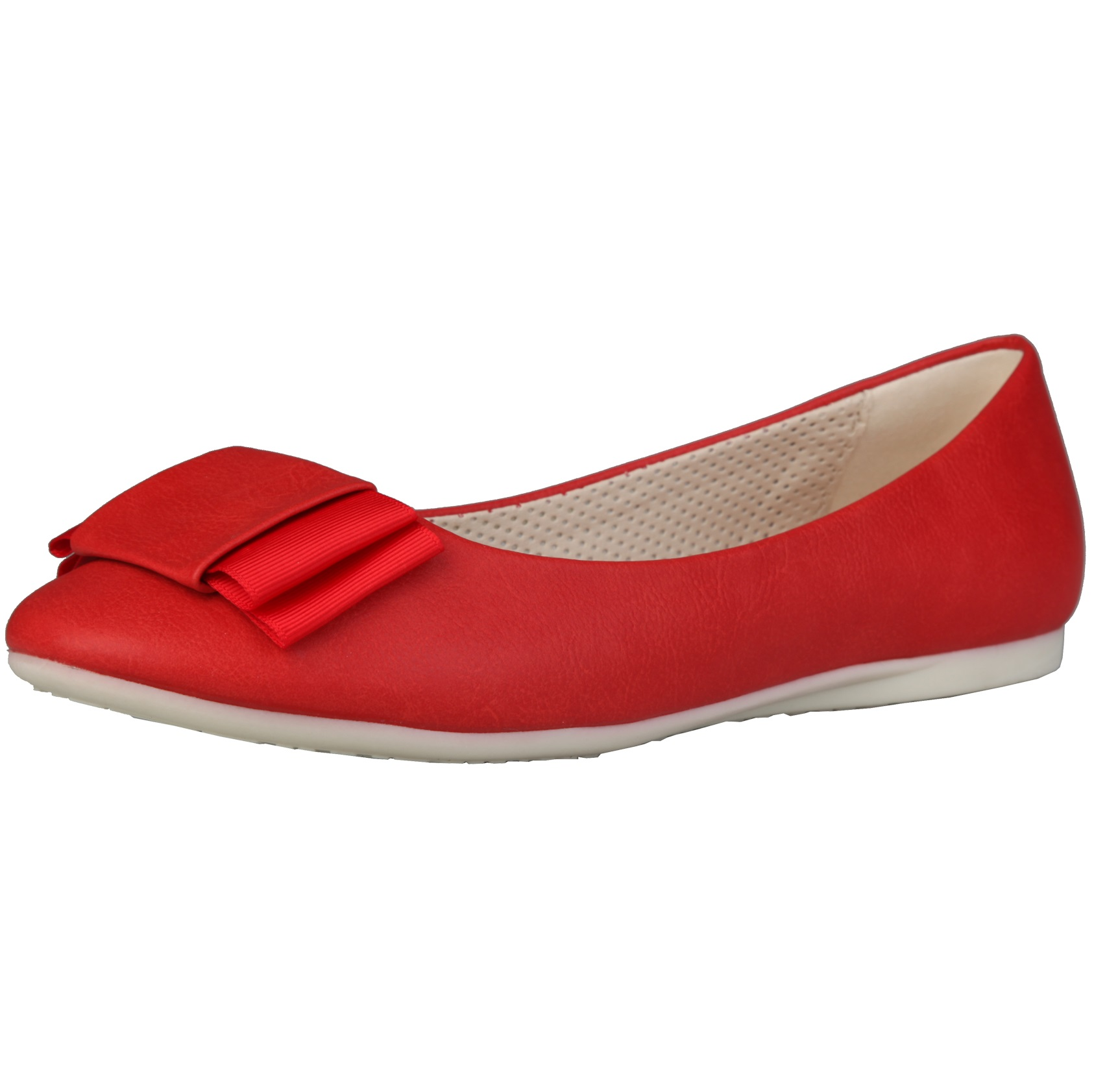 Sofia Loes Flat Shoes Fiocco Rosso Rf600155
