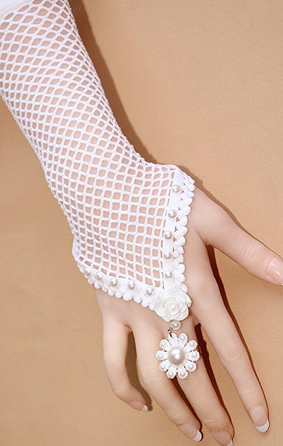 Pleasures Gloves Pearl Bracelet Rf800016