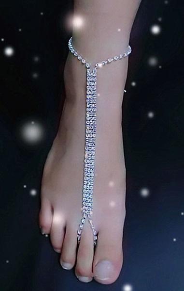 Pleasures Jewelry Barefoot Sandals Rf800036