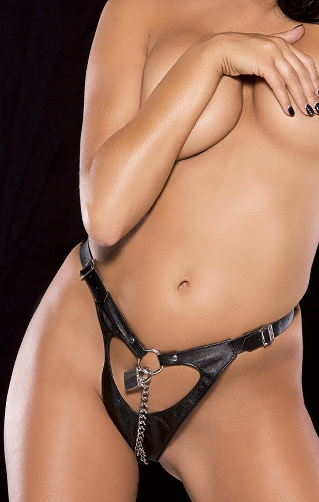 Woman Chastity Thong