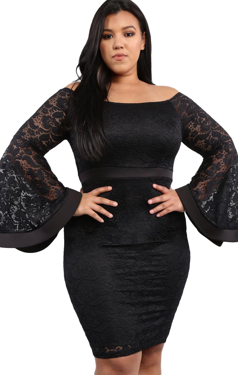 Dress Plus Size Black