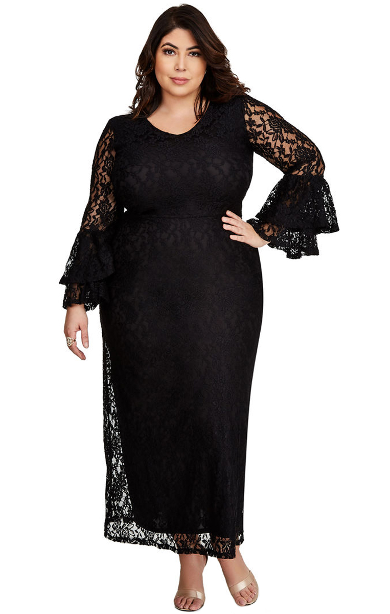 Pleasures Dress Plus Size Black