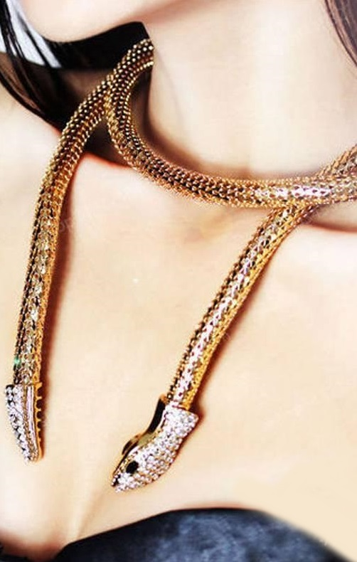 Pleasures Fashion Snake Necklaces
