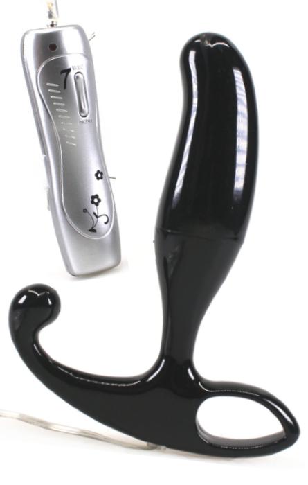 Vibrador Estimulador de Próstata Black  Rf01911