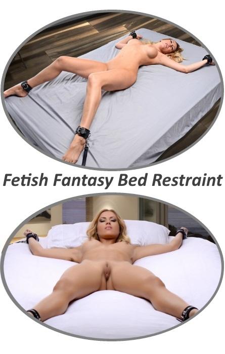 Fetish Fantasy Kit Cama Restrição Black Rf02784